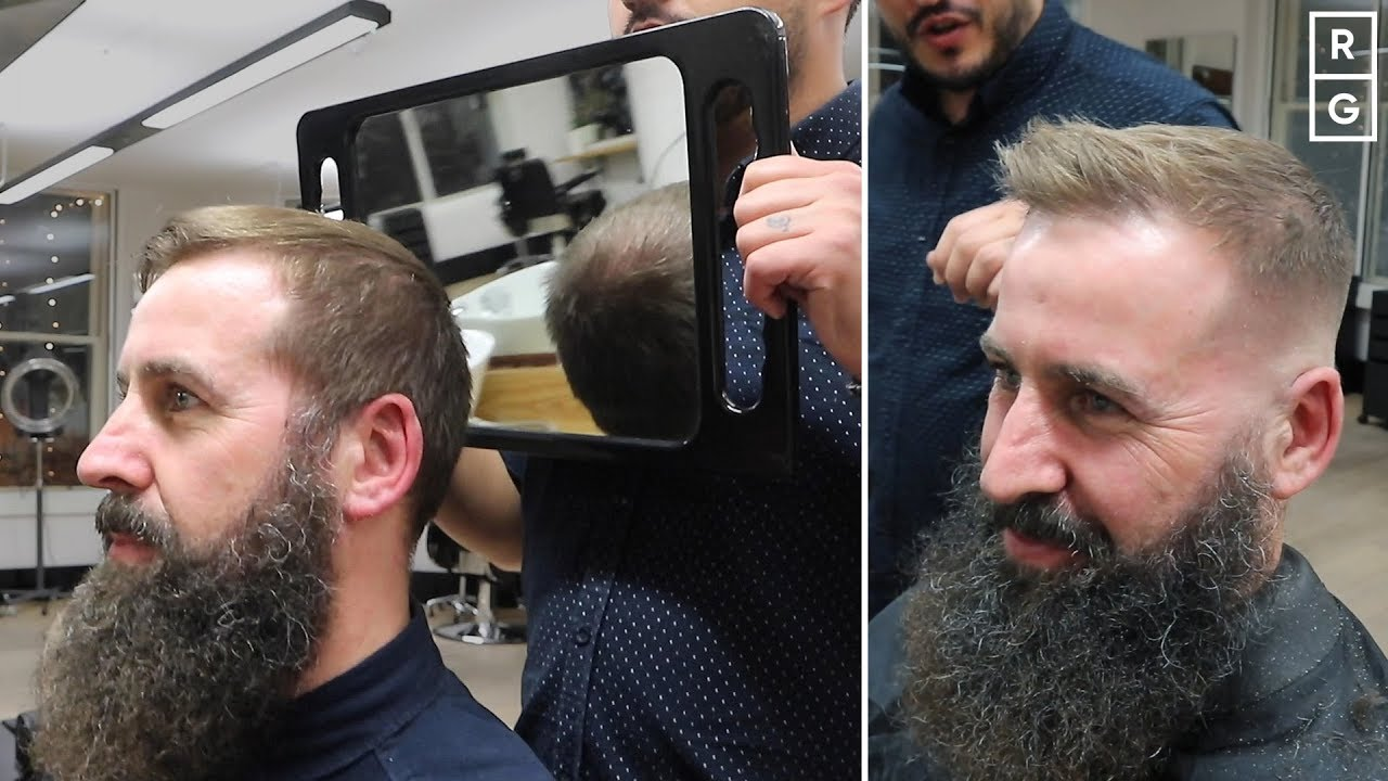 The Best Haircut Products For Thinning Hair On Top To Look Thicker Men Youtube
