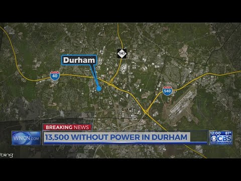 More than 13,500 Duke Energy customers without power in Durham