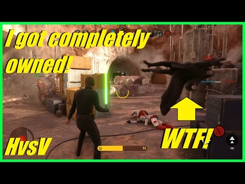Star Wars Battlefront - I got completely owned! | People wanted me dead this game! (HvsV)