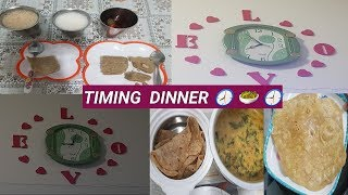 EVENING TO NIGHT DINNER ROUTINE - 13 / Pasiparupu palakeerai sambar / Time Management #