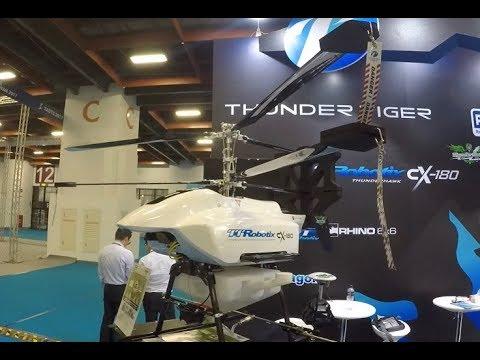 雷虎科技 TTRobotix autonomous agriculture drone CX-180 : Coaxial Rotor at sugarcane fields
