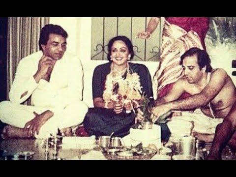 Wedding Photos of Hema Malini & Dharmendra - YouTube