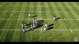 Mona Shores football using drone technology during practices