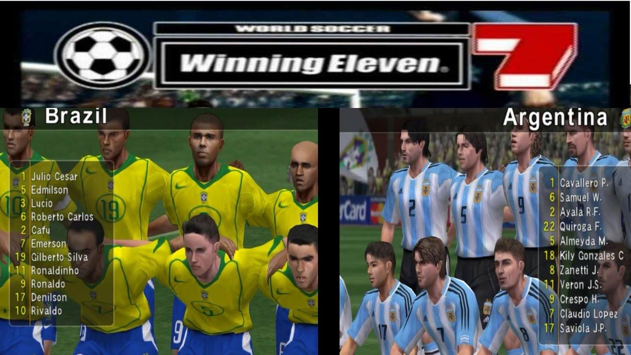 Argentina Vs Brasil: Winning Eleven 7 WEndetta HD1080
