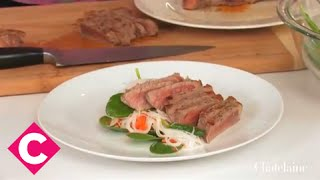 Sesame Ginger Steak And Noodle Salad