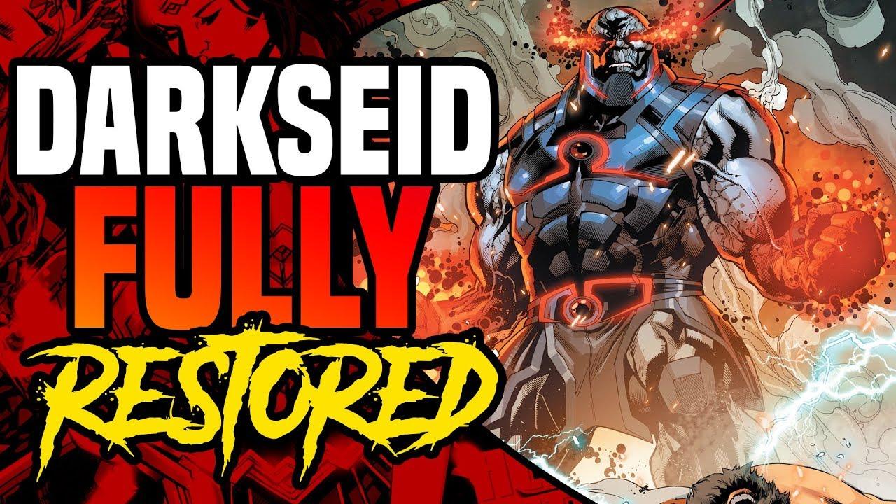DC Rebirth: Darkseid Fully Restored