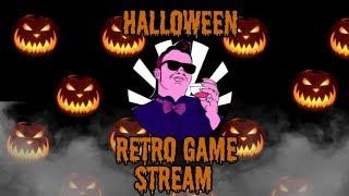 A Halloween Stream! Retro Spooky Games!