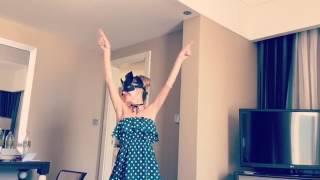 Забавное видео с Анной Хилькевич