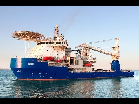 "Subsea Construction Vessel ""KHANKENDI"" Naming Ceremony"