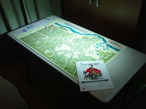 American Revolution Tri Pack - Saratoga Campaign Scenario Initial Setup