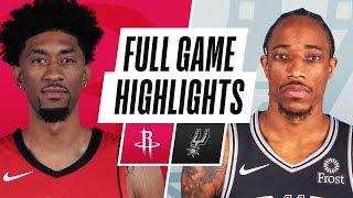 Game Recap: Spurs 103, Rockets 91