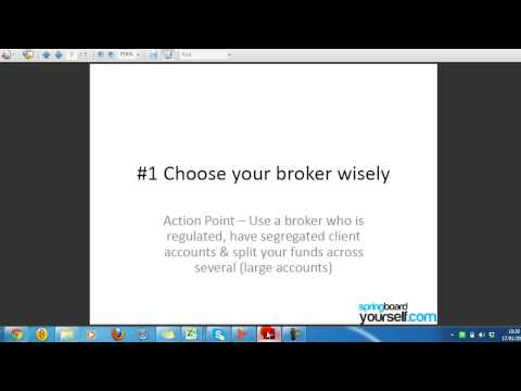 Video Blog - Key Trading Risk Management Principles