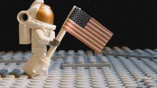 Lego Moon Landing - Apollo 11