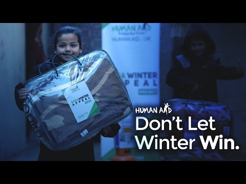 Human Aid UK | Winter Pack Distribution in Gaza