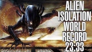 Alien Isolation Speedrun World Record - Any % CC Only - 23:33