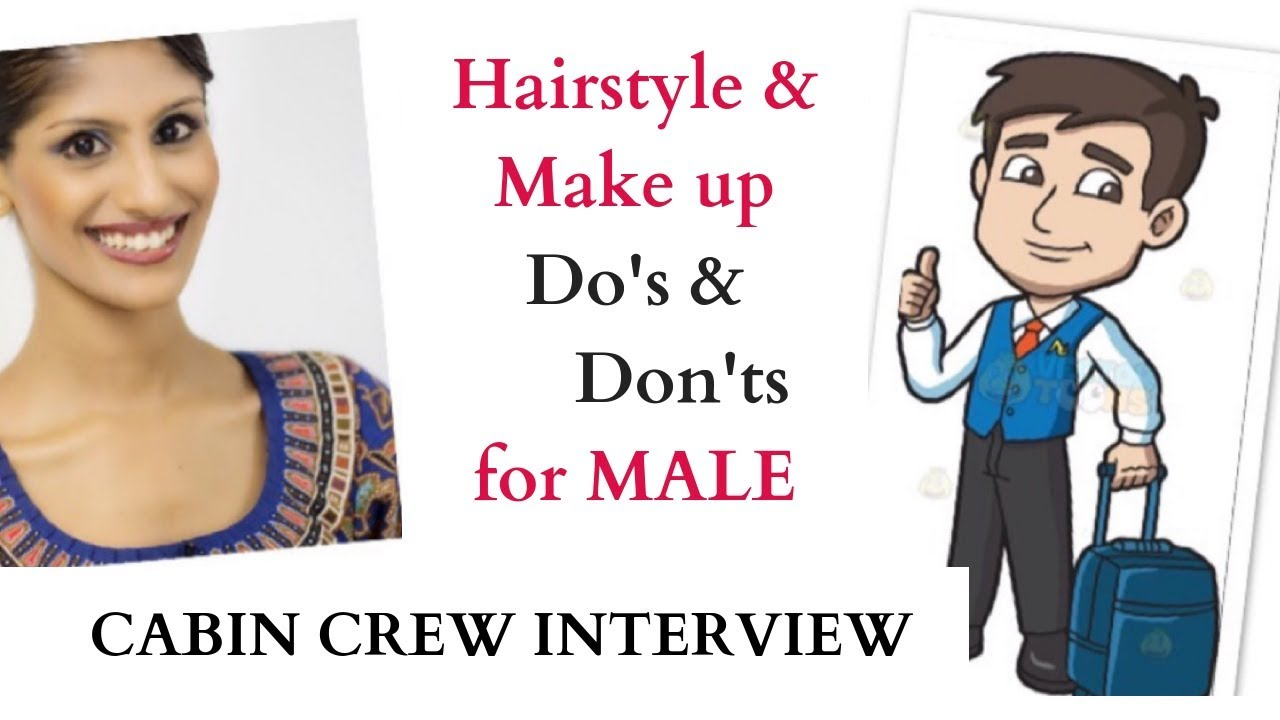look handsome for interview / men's grooming / cabin crew / flight attendant / singapore airlines