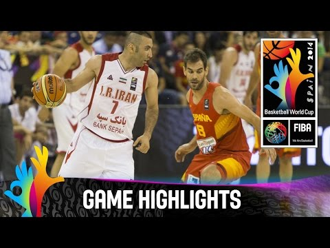 Iran v Spain - Game Highlights - Group A - 2014 FIBA Basketball World Cup