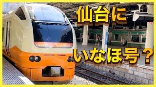 【E653系が仙台にきた!】東北本線 臨時快速 E653系(福島行き)をお見送り。