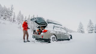 Solo Snow Camping iฑ Subaru: Why I Car Camp