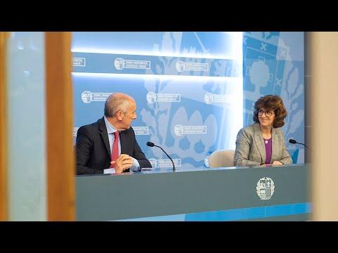 Nekane Murgak Euskadiko Koronabirusaren Inguruko Azken Datuak Eman Ditu (2020-04-21)