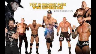 Top 10 Greatest WWE Wrestlers of 2018
