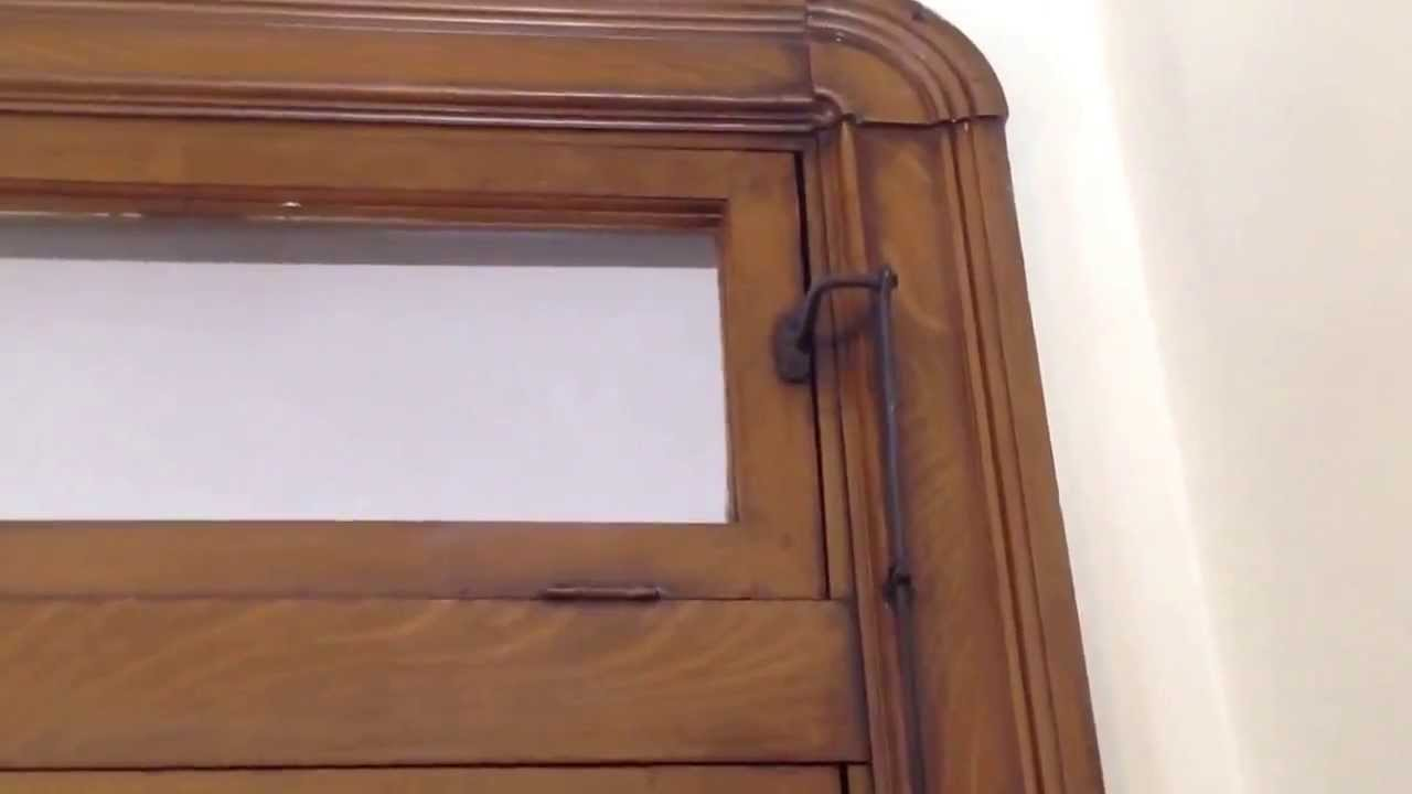 Transom window very rare youtube for Transom windows