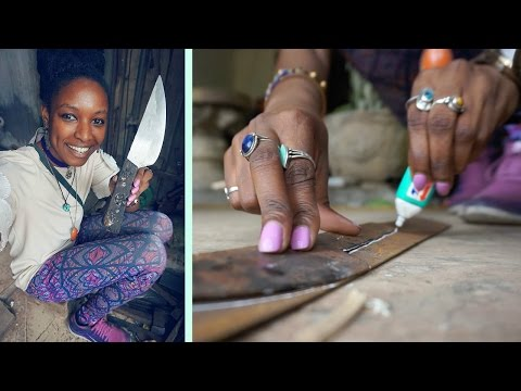 Knife Making in Vietnam | Travel Hanoi | charlycheer