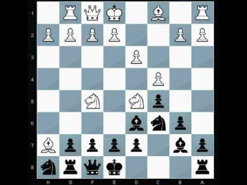 Game 01 - Fischer Random chess960 chess 960 - learn chess variants