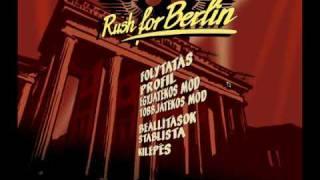 Rush for Berlin Menu Music