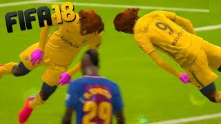 HE DID THE FAMOUS FLOP!! - FIFA 18 with The Crew!