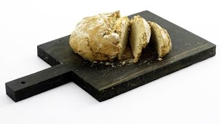 Хлеб из двух злаков с пахтой