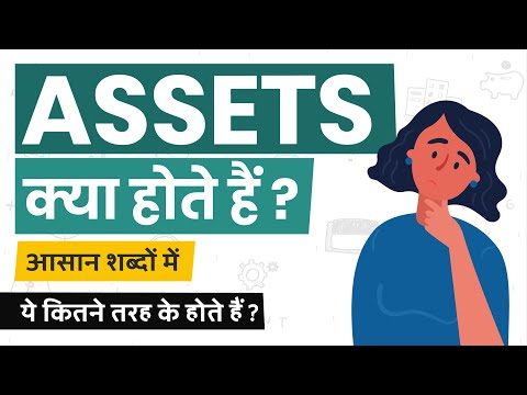 What Are Assets? Assets Kya Hote Hai? Types Of Assets? Simple Explanation In Hindi