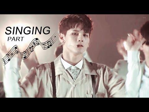 [PRODUCE 101] Ong Seongwu Singing part - 옹성우 노래하는