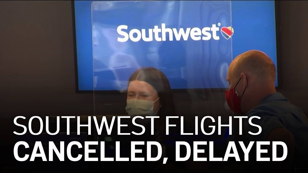More Southwest Airlines flight disruptions follow a weekend of ...