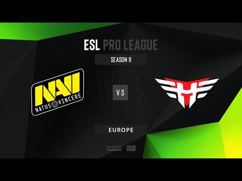 NaVi vs Heroic - ESL Pro League Season 9 - Map 1