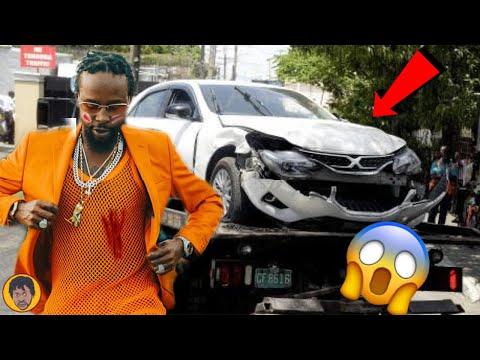 Popcaan CRASH Buju Banton Son Car? Popcaan Got EXP0SED | Tenae