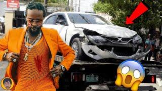 Popcaan CRASH Buju Banton Son Car? Popcaan Got EXP0SED   Tenae