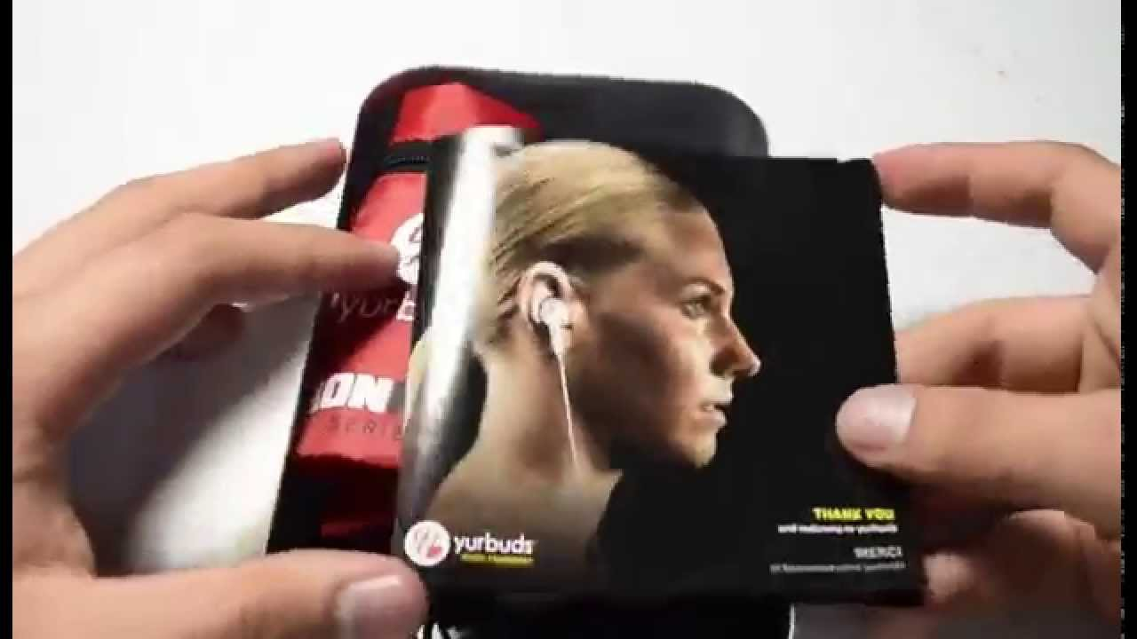 72bd1a37f9b UNBOXING Yurbuds inspire 100 - YouTube