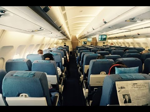 Philippine Airlines A340-300 Flight Experience: PR212 Sydney to Manila