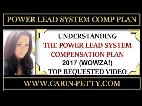 Power Lead System Compensation Plan | 2017 - Understanding The Power Lead System Compensation Plan