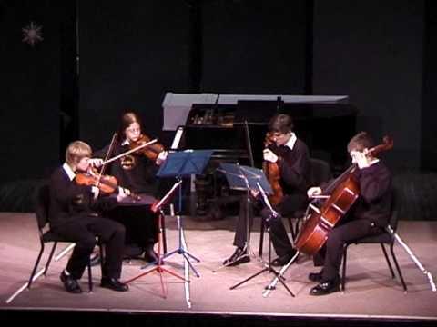 Contrapunctus 1, JS Bach, the Crowden School, 1/25/2006