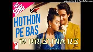 Honton Pe Bas Tera Naam Hai (Yeh Dillagi - 1994) + Mixxer By Krishna Singh