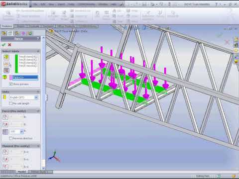 SolidWorks2008 COSMOSWorks Beams