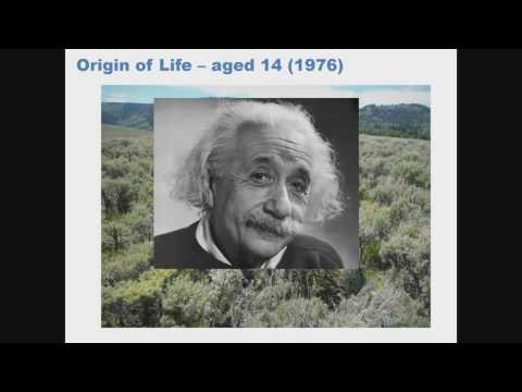 Plenary 13 Origin and Evolution of Life and Consciousness