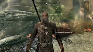 Skyrim SE: Taking Serana To Fort Dawnguard & Being Kicked Out For Being A Vampire