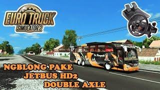 Euro Truck Simulator 2   Mod Bus Indonesia Jalan-Jalan Bareng HR Sambalado Double Axle