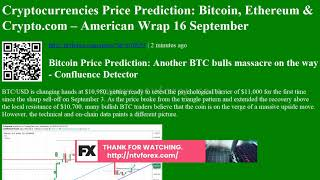 Cryptocurrencies Price Prediction: Bitcoin, Ethereum &amp