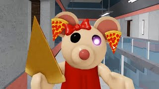 ROBLOX PIGGY 2 PIZZA MOUSEY NEW JUMPSCARE - Roblox Piggy rp