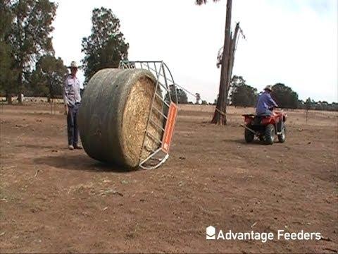 Advantage Feeders Cradle Hay Feeder