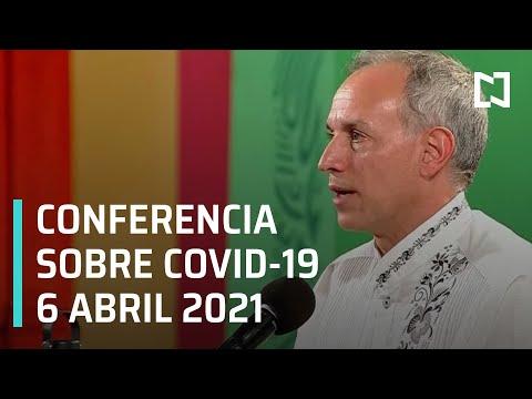 Informe Diario Covid-19 en México - 6 abril 2021